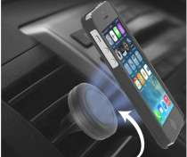 Universal Magnetic Air Vent Phone Holder 76p delivered w/code @ Gearbest