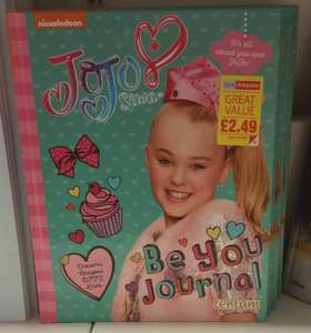 JoJo Be You Journal for £2.49 @ Home Bargins