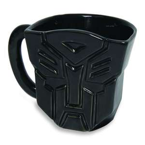 Transformers Black Autobot Mug £2 Delivered Based On A Minimum £5 Ex Vat Spend (Otherwise £5) @ CPC