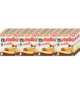 Nutella B-Ready Biscuits, 6 pieces (Pack of 16) £15.84 Prime / £20.59 non-Prime @ Amazon