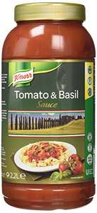 KNORR Tomato and Basil Sauce, 2.2 Liters Amazon add-on item - £2.44