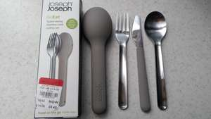 Joseph Joseph Go eat cutlery set in grey with 40% off - £8.40 - instore at Debenhams