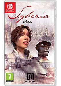 Syberia Nintendo Switch £22.85 delivered. (Base.com)
