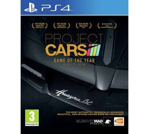 Project Cars (Game Of The Year Edition) (PS4) - £17.99 @ Argos