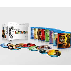 The Clint Eastwood Boxset Blu-ray £13.98 delivered @ The Hut