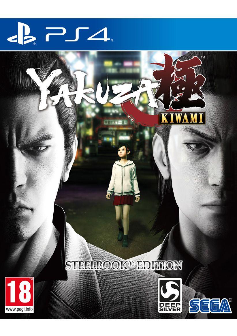 [PS4] Yakuza Kiwami Steelbook Edition - £19.85 - Simply Games