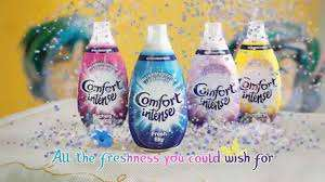 Comfort Intense Fabric Conditioner 64 Washes - 4 different varieties available all reduced to £2.50 each @ Tesco