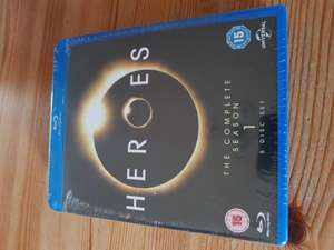 Heroes Season 1 Blu Ray - £1 @ Poundland