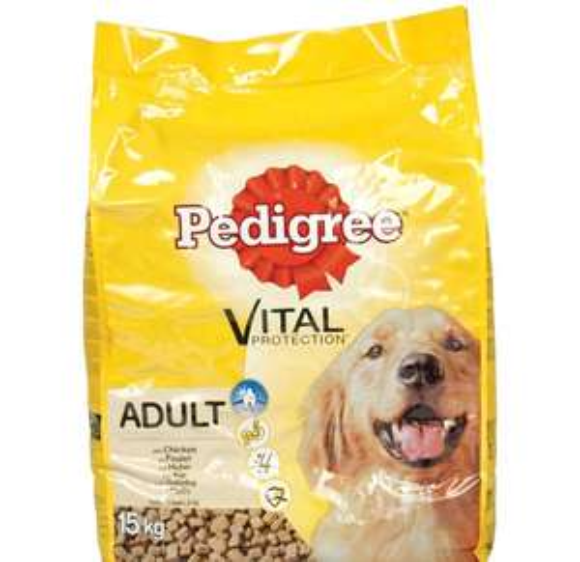 Aldi: Pedigree Dry Dog Food 15kg - £18.75 Delivered