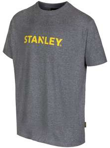 Stanley Lyons Men's Grey T-Shirt - Large £3 + £3.95 P&P @ Argos