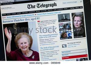 Free 30 day trial of Daily Telegraph Premium (access all articles)