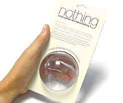 Nothing (For the Person Who Has Everything), only £4.49 including delivery at Zavvi!
