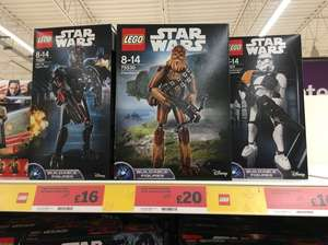 LEGO STAR WARS Buildable Figures £16 @ Sainsburys