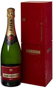 Piper Heidsieck Brut Champagne 75 cl with Coolbox £20 @ Amazon