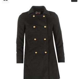 Lee Cooper Womens Stud Button Coat  £17.99 delivered @ebay sportsdirect