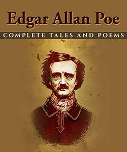 Edgar Allan Poe: Complete Tales and Poems (Kindle) FREE @ Amazon
