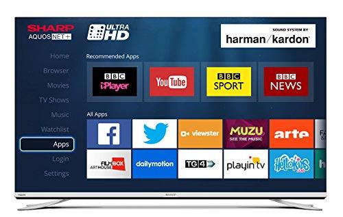 Sharp LC-43XUF8772KS 43-Inch 4K Ultra HD TV [Energy Class a] £489.99 @ Amazon