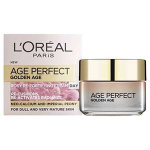 L'Oreal Paris Perfect Golden Age Rosy Re Fortifying Day Cream, 50 ml £3.37 @ Amazon Pantry (Prime)
