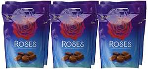 Cadbury Roses Chocolate Pouch, 450 g (Pack of 6) £16.80 Prime / £21.55 Non Prime @ Amazon
