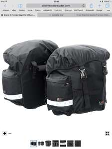 Brand X chain reaction Pannier Bag x2 £9.99 delivered @ CRC