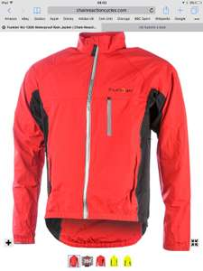 Funkier waterproof wj1306 red jacket XS or M £14.99 @ crc chain reaction (£49 rrp