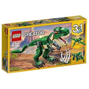 Lego 31058 Dinosaur set £9.45 Prime / £13.44 Non Prime delivered @ Amazon