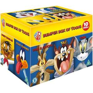 Looney Tunes Big Face 10 DVD Box Set Zavvi £14.99