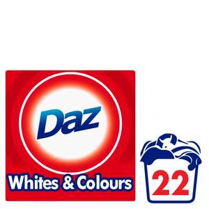 Daz Washing Powder 1.43Kg 22 Washes for £2 @ Tesco