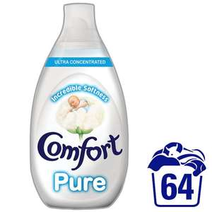 Comfort Pure Ultra Concentrated Fabric Conditioner 960Ml - Tesco - £2.50 (half price)
