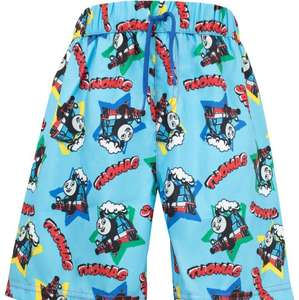 Thomas the tank engine swim shorts £1.95 + £3.95 del @ Character.com