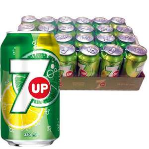 7UP 24 cans for £5.50 at The Food Warehouse (Part of Iceland) (23p a can)