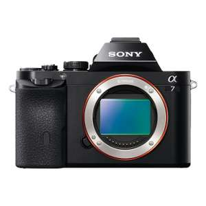Sony A7 Full Frame Compact System Camera Body  £699.00 ( £599.00 after cashback)  Amazon Prime