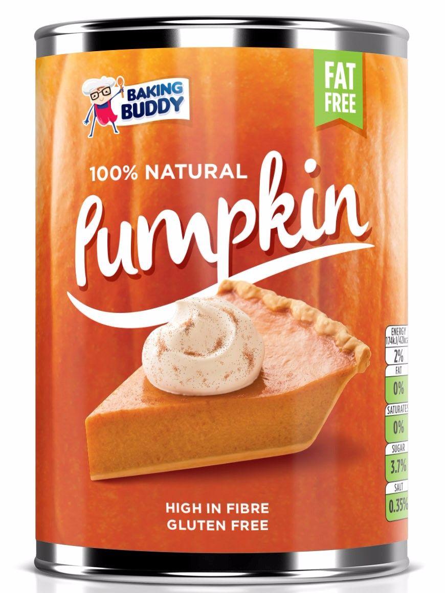 Baking Buddy Tinned Pumpkin Puree 425g at Sainsburys