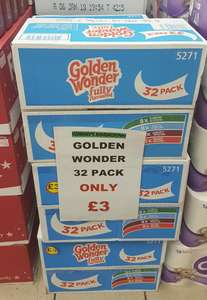 Golden Wonder crisps 32 pack £3 @ Costcutters