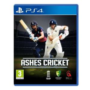 Ashes Cricket 2017 £40.99 PS4 & XBOX ONE @ 365games.co.uk