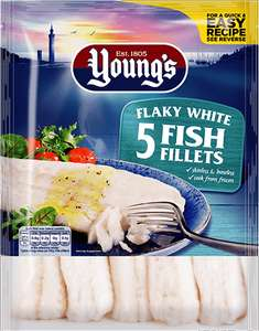 Young's flaky white fish £1.06 @ Sainsbury's