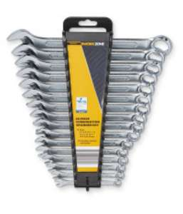 Workzone 16-Piece spanner set 6-22mm £ 7.49 delivered @ Aldi