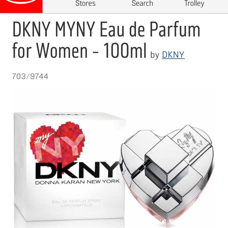 DKNY MYNY edp perfume 100ml £30 @ Argos (Free C&C)