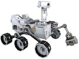 Xmas Stocking filler - Build-It 3D Space Models - Mars Curiosity Rover 166 Piece £6.79 @ CPC