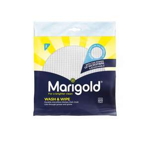 Free Marigold Waffle 2pk cloths £1.25 instore @ Wilko - return packet / receipt with review to Marigold & get refund on cloths / postage