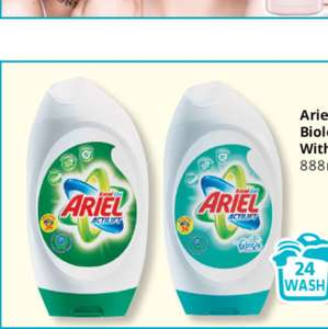 Ariel gel with Febreze instore at Savers for £3.49