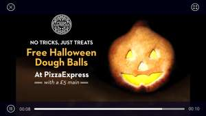 O2 priority giving free doughballs when u buy £5 main @ Pizza Express