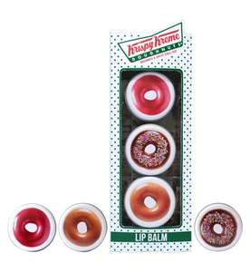 Pack of 3 Doughnut Shaped Krispy Kreme Lip Balms £7 each & 3 for 2 instore / online @ Boots (Mix n Match with other Krispy Creme items in OP eg  offer Krispy Kreme Iced Sprinkles Nails £10)