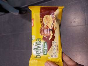 Free Belvita in Manchester Piccadilly station today