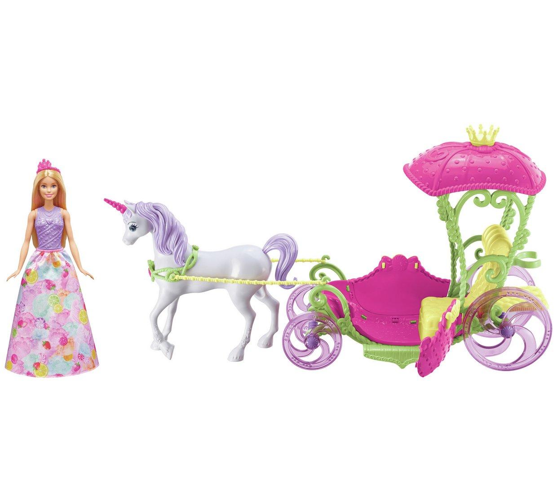 Barbie Dreamtopia Sweetville Carraige (Doll Inc) £24.99 free C&C Argos