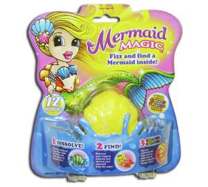 Mermaid Fizz N Surprise £1.49 free C&C from Argos.