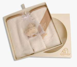 Cuddledry newborn gift set for £20 with free shipping,  usually £39.99