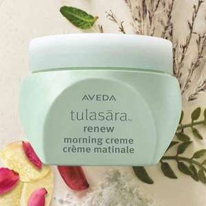 free aveda tulasara renew cream at Aveda Stores (instore - location specific)