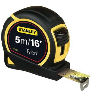 Stanley Tyron tape 5m/16feet - amazon prime exclusive add-on item for £2