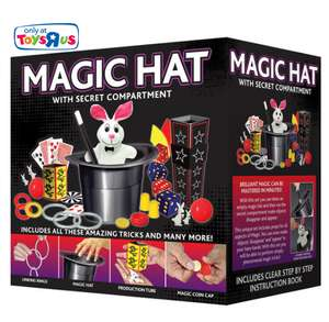Magic Hat Tricks Set  (was £19.99) now £9.98 + More Half Price Games +  £5 off £30 spend w/code at Toys R Us